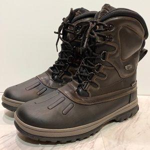New! Lugz Anorak Brown Waterproof Boot Men's 10